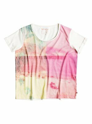 Roxy™ Rolly Dolly Two Worlds - T-Shirt - T-Shirt - Mädchen - Weiss
