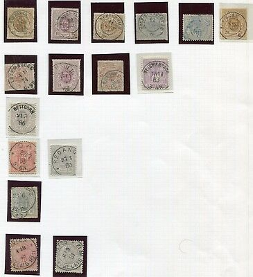 LUXEMBOURG -  Selection classics, POSTMARK interest