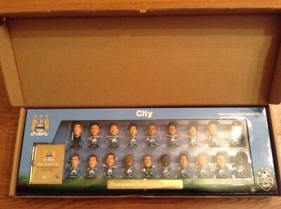 Soccerstarz Manchester City Pl Champions 2013/14 Unopened Team Pack, 19 Figures
