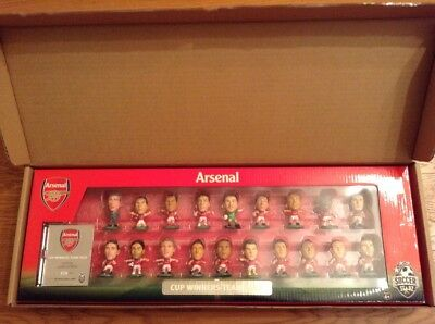 Soccerstarz Arsenal Fa Cup Winners 2014 Unopened Team Pack, 19 Figures