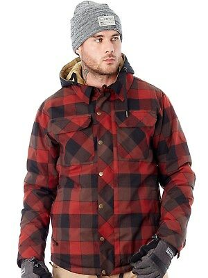 686 Snowboardjacke Woodland Insulated Rusty Rot Plaid