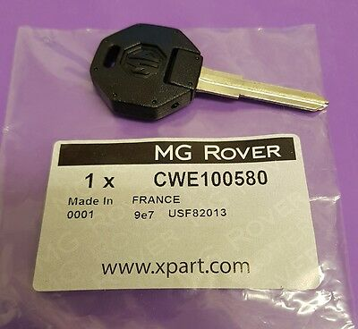 Mgf / Mg Tf Brand New Genuine  Mg Key Blank Cwe100580