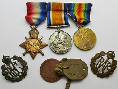 Original Ww1 Medals Group To 7574 Flight Sjt R P Longman Rfc Royal Flying Corps