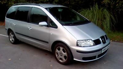 2004 54 Seat Alhambra 1.9TDi PD 130bhp 6speed..7 Seater...£450 No offers