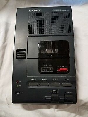 Sony M-2020 Microcassette Dictator/Transcriber   Untested EJG-119