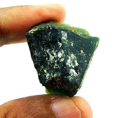 99.00 Ct Natural Green Serpentine Loose Gemstone Rough Specimen - 4537