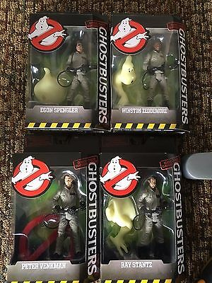 """Set of 4 Factory sealed 6"""" ghostbuster classic figures build a ghost"""