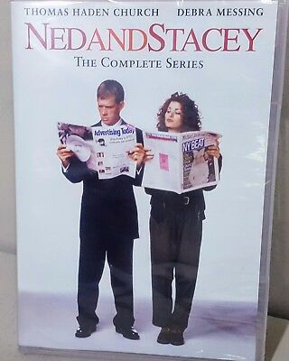NED AND STACEY COMPLETE SERIES New Sealed 6 DVD Set Seasons 1 + 2