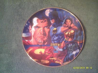 Justice League Of America (Jla )#68 Of 2500/warner Bros Gallery Collectors Plate