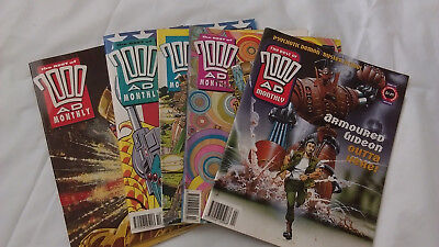 The best of 2000 AD mouthy issues 61,62,64,76,77,115 Judge dread bad company etc