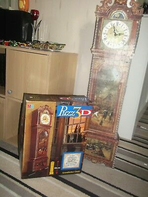 MB Puzz 3D Grandfather Clock Jigsaw Puzzle 777 Pieces