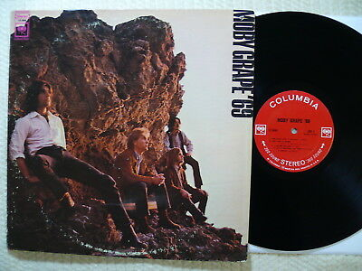 Moby Grape  '69   1969 US 1st Columbia two Eye CS9696  RARE US PSYCHEDELIA  MINT