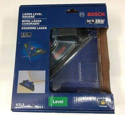 BOSCH GTL2 Laser Level Square horizontal & vertical Chalkline Tile