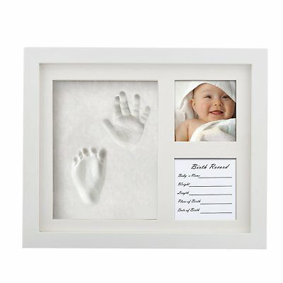 Baby Handprint and Footprint Keepsake Picture Frame by Ropellian - Preserve for