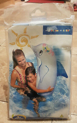 Intex Inflatable Dolphin Pool Pal Vintage 2003 Trademark