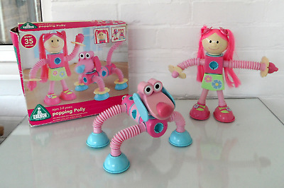 ELC (Popoids) CONSTRUCTION  29  X PIECES Popping  Polly.PINK