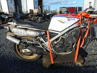 Yamaha bike salvage project parts RZ500 RD500 motorcycle