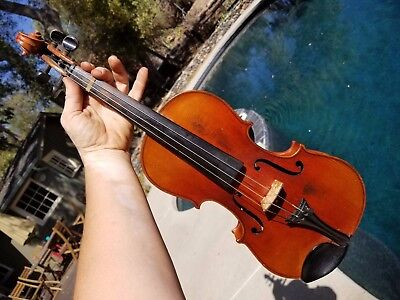 Vintage German Antonius Stradiuarius 4/4 Violin