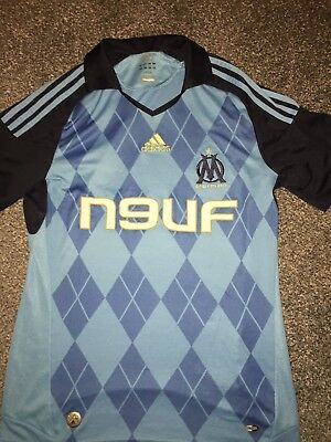 Marseille Away Shirt 2008/09 Small Rare
