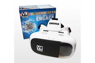 VR INSANE ENGAGE 3D Virtual Reality Headset for use with Smartphones Android iOS