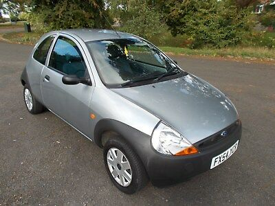 ford ka 1.3 54 reg in silver only 25000 miles 12 months mot vgc 0ne off