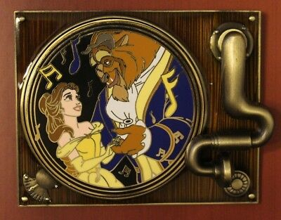 Beauty & The Beast Magical Melodies Disney Pin LE 1500 - Spinner / Movement