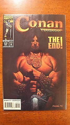 Conan The Barbarian #275, Last Issue, THE END! 9.6 NM+ Grade 1993