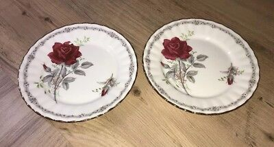Royal Stafford Roses to Remember 2 Side Plates