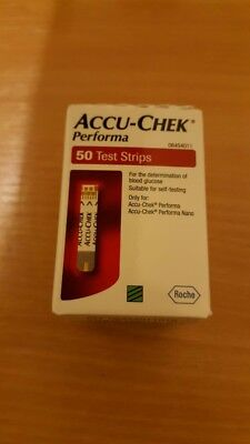 Accu-Chek Performa 50 Test Strips for Diabetics for Blood Glucose Meter