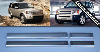 Land Rover Discovery 3 and 4  Sill Protectors Kick Plates