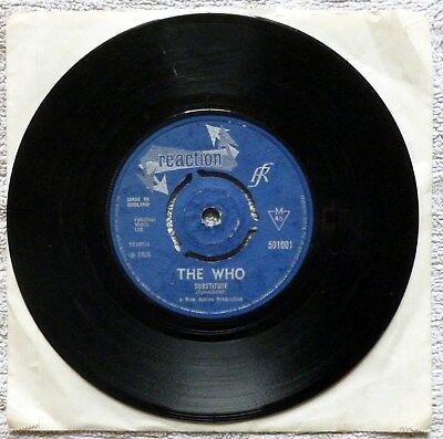 """The Who-Substitute /instant Party-Reaction 7"""" 45"""
