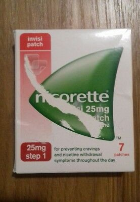 NICORETTE INVISI 15mg  Strength 7 Patches. Step 1