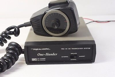 REALISTIC-61, One-Hander, 23 ch.CB transceiver system.(ref 163)