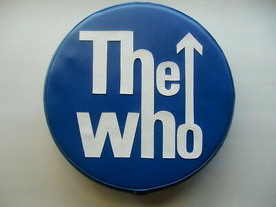 The Who in Blue Scooter Wheel Cover
