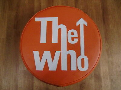 The Who in Orange Scooter Wheel Cover