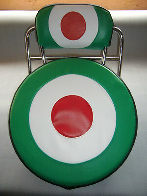 Italian Target Scooter Wheel/Back Pad Cover