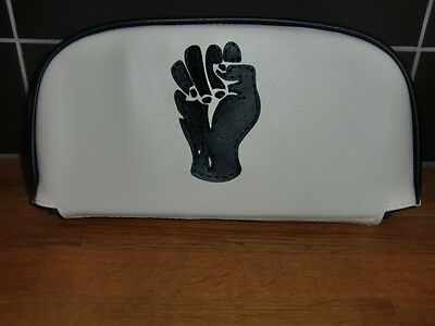 Northern Soul 'Fist' Scooter Back Rest Cover (Purse Style)