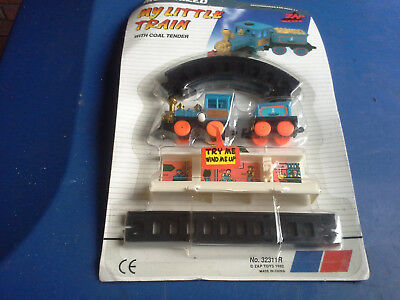 Train Set And Track Toy Wind Up Child's Train Toy New