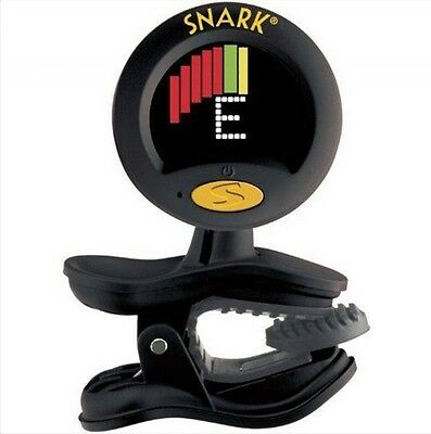 Snark SN-8 SUPER TIGHT Tuner 4 All Instrument Clip On Chromatic Guitar Headstock