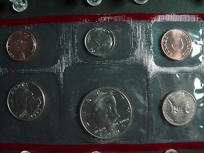 1995 P D Uncirculated United States Mint Set- Set of 10 Coins