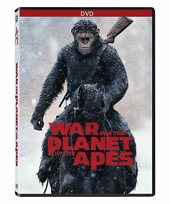 NEW - War for the Planet of the Apes (DVD 2017) Drama, War* PRE-ORDER 10/24/1
