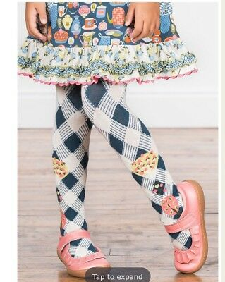 Matilda Jane On The Tippy Toes Tights NWT Size 4-6