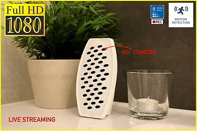 BEST SHOWER SPY CAMERA EVER 2017 FULL HD WIFI MOBILE iOS ANDROID Air Freshener