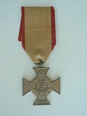 Germany Anhalt Frederich Cross Medal 1914Vf+