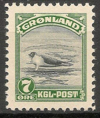GREENLAND -1945 American issue 7 ore - MNH VF -Facit 12