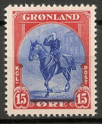 GREENLAND -1945 American issue 15 ore - MNH VF -Facit 14
