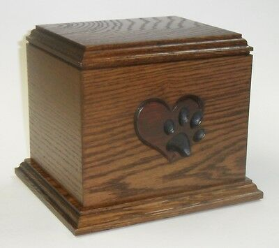 Paw on my heart Pet cremation urn