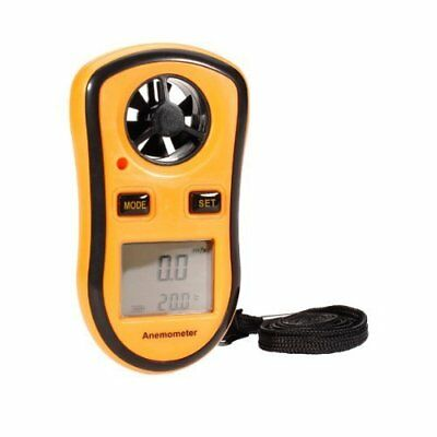 Compact Digital Anemometer Mini Weather Station Wind Meter & Thermometer