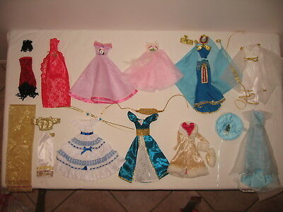 Barbie clothes dress - 10 different styles