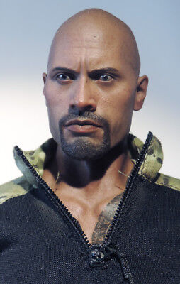 HOT TOYS 1/6 G.I.Joe Roadblock Retaliation Roadblock DWAYNE JOHNSON The ROCK